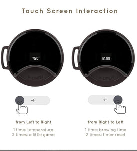 Smart Mug With OLED Temperature Display | Touch Interactive - Trend BoxSmart Mug With OLED Temperature Display | Touch Interactive Smart Mug With OLED Temperature Display | Touch Interactive