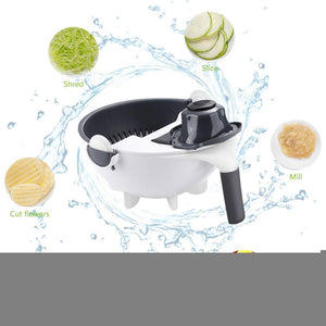 Magic Rotate Vegetable Cutter With Drain Basket - Trend BoxMagic Rotate Vegetable Cutter With Drain Basket Magic Rotate Vegetable Cutter With Drain Basket