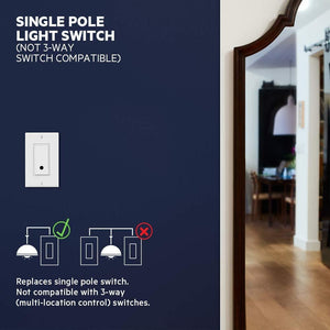 Smart Light Switch, WiFi Enabled