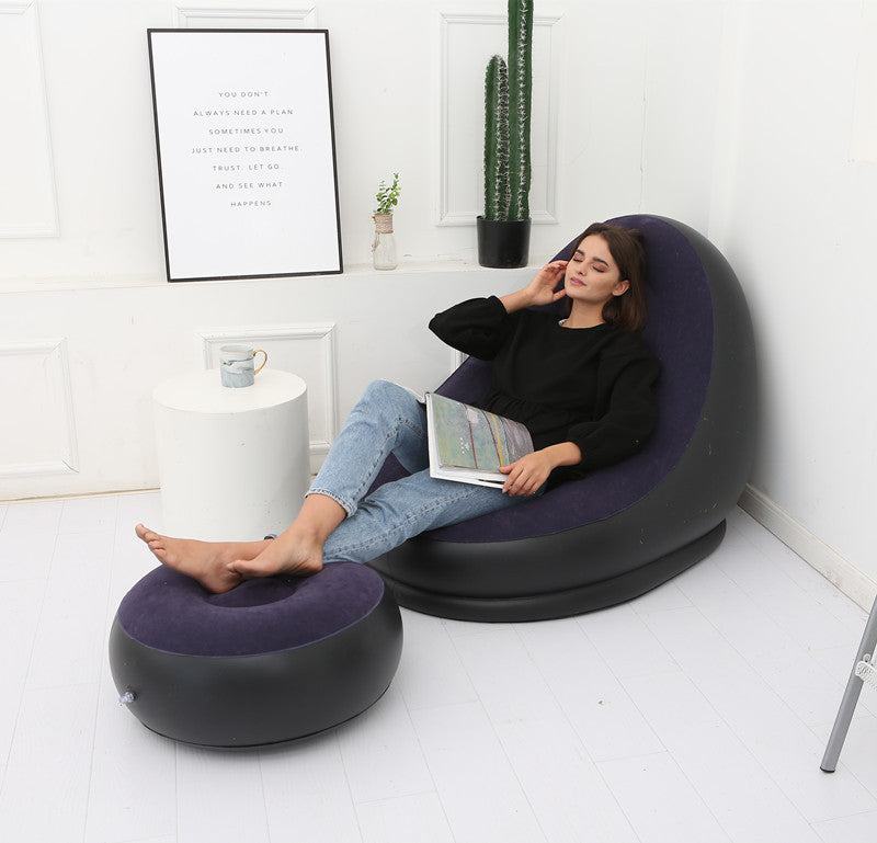 MODERN DECOR Lazy bean bag with inflatable folding sofa - Trend BoxLazy bean bag with inflatable folding sofa MODERN DECOR MODERN DECOR Lazy bean bag with inflatable folding sofa