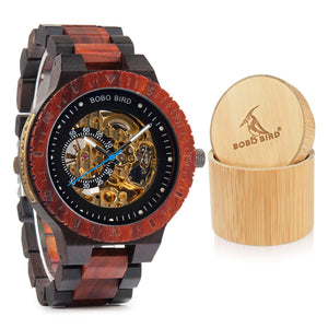 Mens Wooden Luxury Mechanical Lightweight Wood Band Timepieces For Men - Cheapo's DepotMens Wooden Luxury Mechanical Lightweight Wood Band Timepieces For Men Mens Wooden Luxury Mechanical Lightweight Wood Band Timepieces For Men