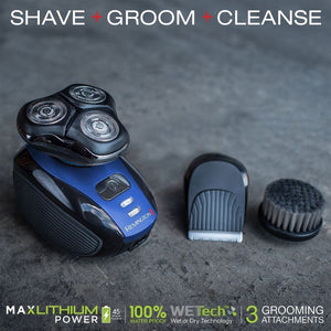 Wet & Dry Men's Shaver & Trimmer Grooming Kit - Cheapo's DepotWet & Dry Men's Shaver & Trimmer Grooming Kit Wet & Dry Men's Shaver & Trimmer Grooming Kit