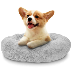 Small Dog, Cat Round Calimg Cushion Bed - Trend BoxSmall Dog, Cat Round Calimg Cushion Bed Small Dog, Cat Round Calimg Cushion Bed