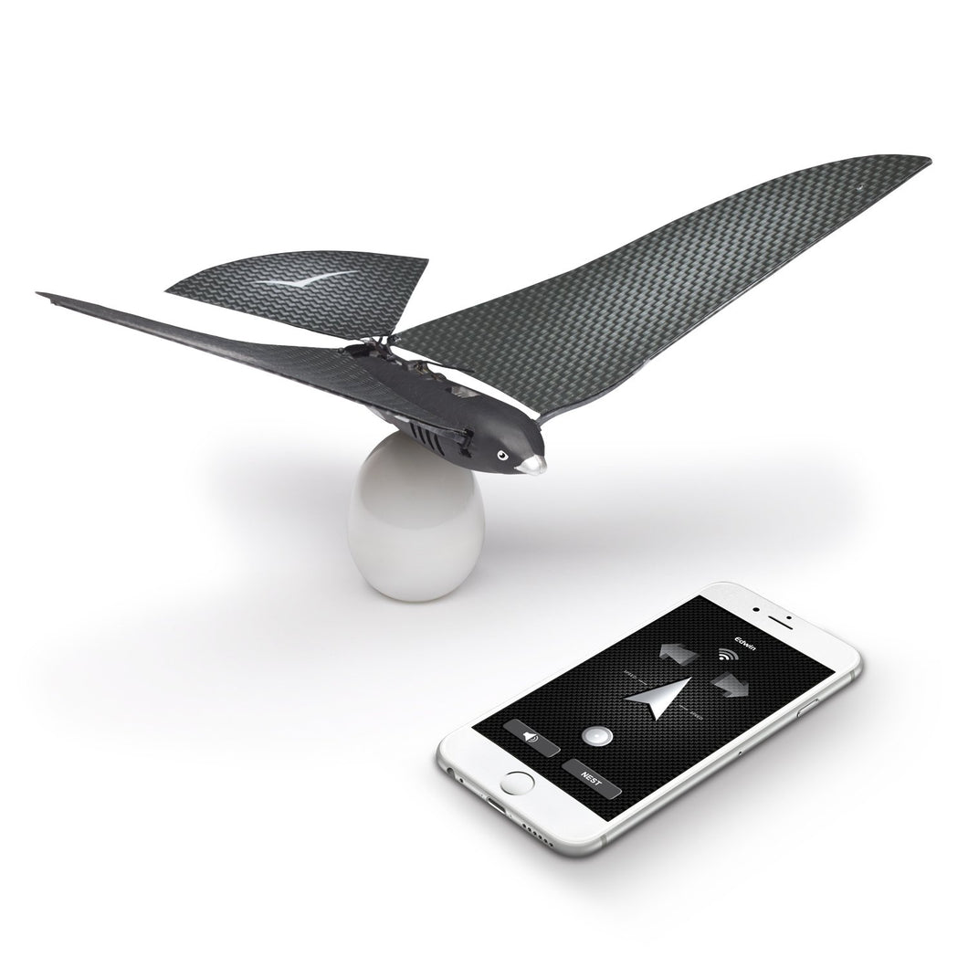 BIONICBIRD THE FLYING APP - PREMIUM PACKAGE - Smart Flying Robot + Egg Charger + Extra pair of wings - Trend BoxBIONICBIRD THE FLYING APP - PREMIUM PACKAGE - Smart Flying Robot + Egg Charger + Extra pair of wings BIONICBIRD THE FLYING APP - PREMIUM PACKAGE - Smart Flying Robot + Egg Charger + Extra pair of wings