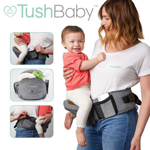 TushBaby The Only Safety Certified Hip Seat Baby Carrier - Trend BoxTushBaby The Only Safety Certified Hip Seat Baby Carrier TushBaby The Only Safety Certified Hip Seat Baby Carrier
