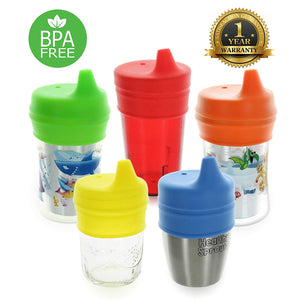 Healthy Sprouts Silicone Sippy Lids (5 Pack) - Trend BoxHealthy Sprouts Silicone Sippy Lids (5 Pack) Healthy Sprouts Silicone Sippy Lids (5 Pack)