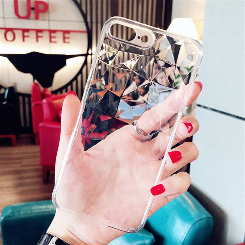 Diamond Texture Case For iPhone 6 6s 7 8 Plus X XR XS Max iPhone 7 Luxury Transparent Ultra Thin - Trend BoxDiamond Texture Case For iPhone 6 6s 7 8 Plus X XR XS Max iPhone 7 Luxury Transparent Ultra Thin Diamond Texture Case For iPhone 6 6s 7 8 Plus X XR XS Max iPhone 7 Luxury Transparent Ultra Thin