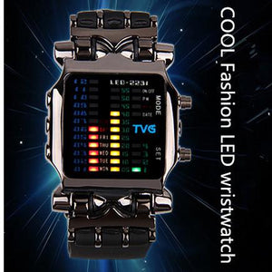 TVG Rubber Waterproof LED Digital Sports Watches