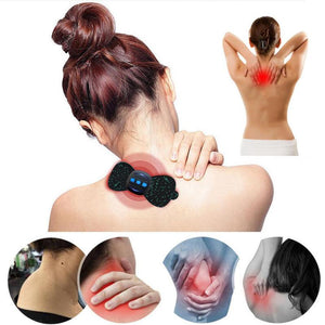 Mini Portable Massage Neck Stickers - Trend BoxMini Portable Massage Neck Stickers Mini Portable Massage Neck Stickers