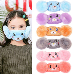 baby world Cartoon Cute Earmuffs Mask - Trend BoxCartoon Cute Earmuffs Mask baby world baby world Cartoon Cute Earmuffs Mask