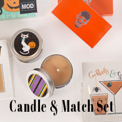 candles and match gift set