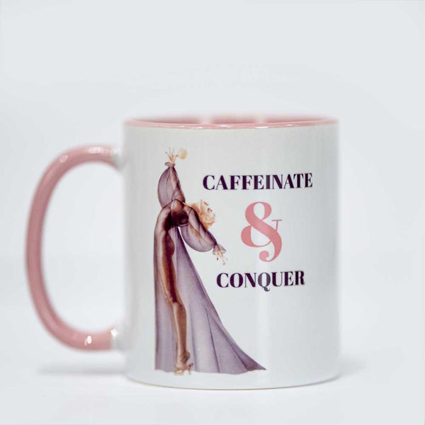 Pinup Girl Coffee Mug - ModLoungePaperCompany