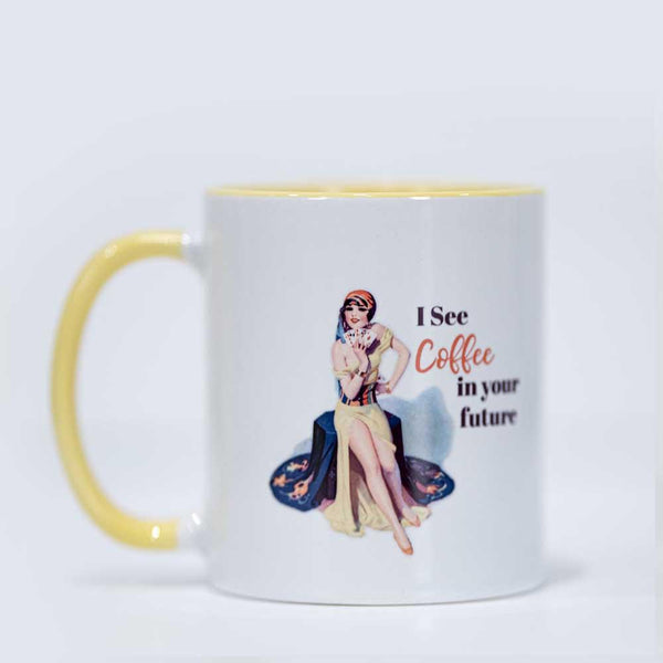 Pinup coffee mug