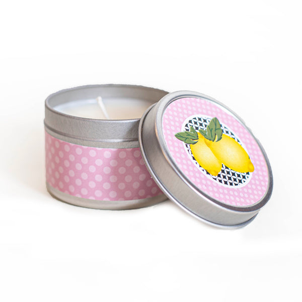 Lemon Travel Candle - ModLoungePaperCompany
