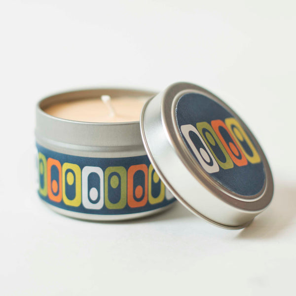 Mod Square Travel Candle - ModLoungePaperCompany