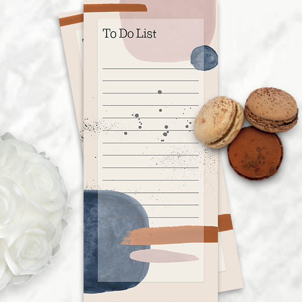 Abstract Pattern To Do List - ModLoungePaperCompany