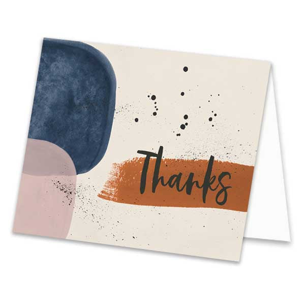 Abstract Thank You Card - ModLoungePaperCompany