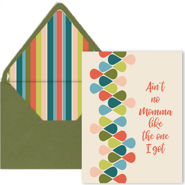 Ain't No Momma Card - ModLoungePaperCompany