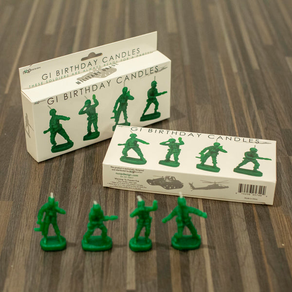 GI Army Men Candles by NuOp Design - ModLoungePaperCompany