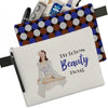Bride Pin Up Girl Makeup Bag - ModLoungePaperCompany