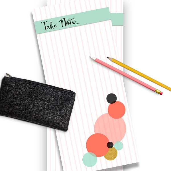 Baubles Take Note Notepad - ModLoungePaperCompany