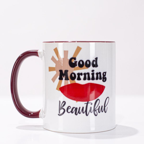 Good Morning Beautiful Coffee Mug - ModLoungePaperCompany