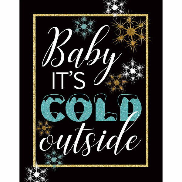 Baby It's Cold Outside Art Print - ModLoungePaperCompany