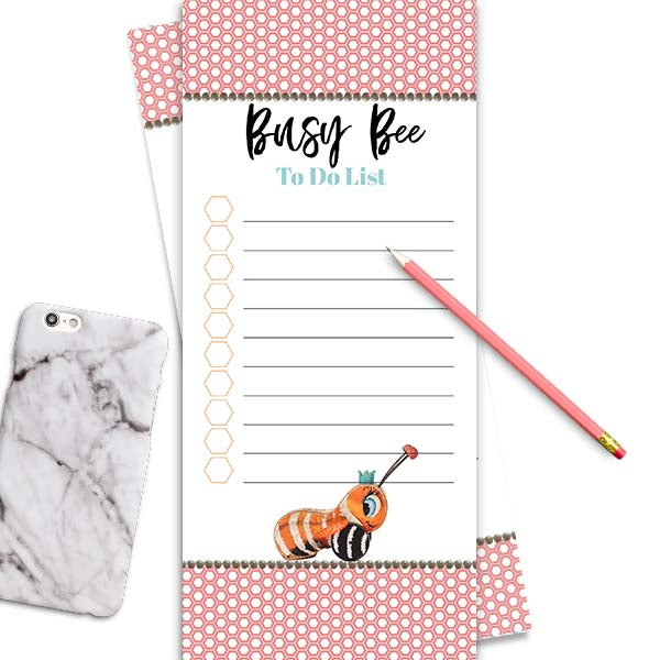Busy Bee Notepad - ModLoungePaperCompany
