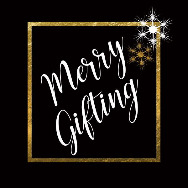 merry gifting gift tag