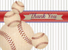 Vintage Baseball Thank You Card - ModLoungePaperCompany
