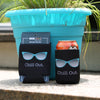 Chill Out Black Koozie - ModLoungePaperCompany