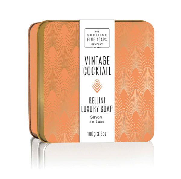Bellini Soap In A Tin Scottish Fine Soaps - ModLoungePaperCompany
