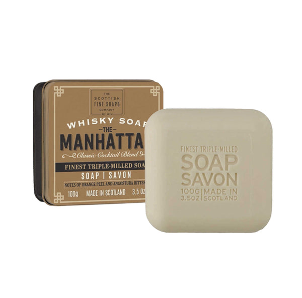 manhattan soap tin