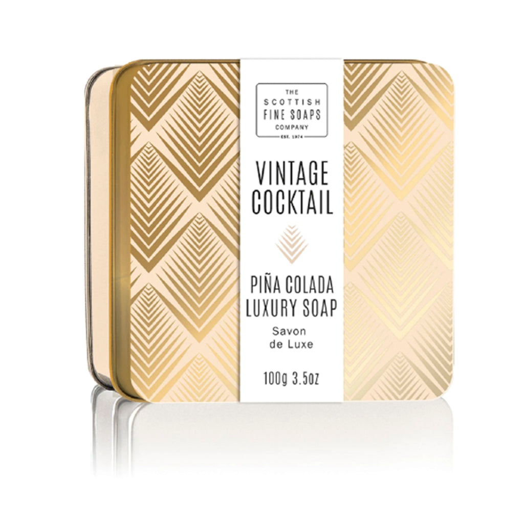 Pina Colada Soap In A Tin - ModLoungePaperCompany