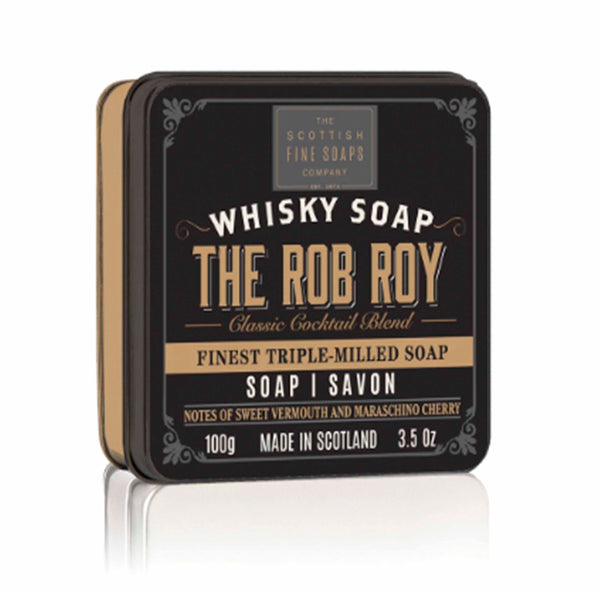 Rob Roy Soap In A Tin - ModLoungePaperCompany
