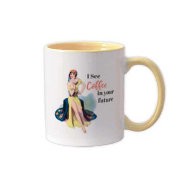 Coffee In My Future Coffee Mug - ModLoungePaperCompany