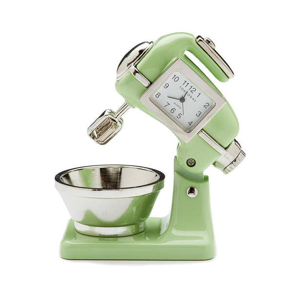 Mixer Clock Light Green - ModLoungePaperCompany