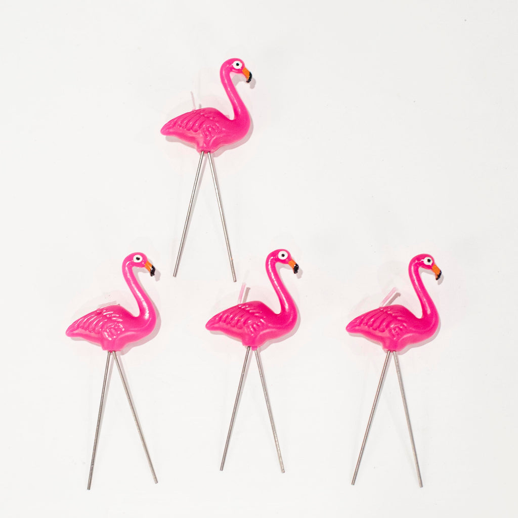Flamingo Party Candles by NuOp Design - ModLoungePaperCompany