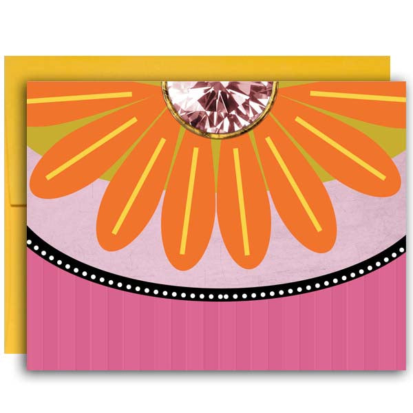 Flower Notecard - ModLoungePaperCompany