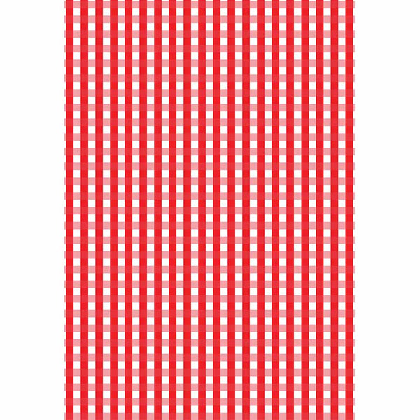 Red Gingham Gift Wrap - ModLoungePaperCompany