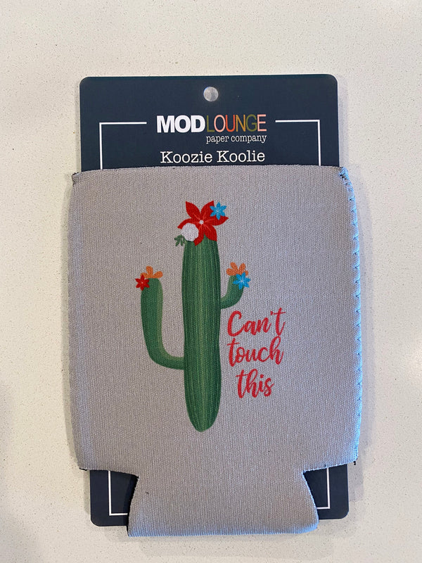 Llama Keep Cool Red Koozie - ModLoungePaperCompany