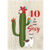 Cactus 40 is the new sexy card - ModLoungePaperCompany
