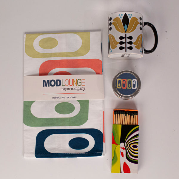 Mid century Modern Essential Gift Set - ModLoungePaperCompany