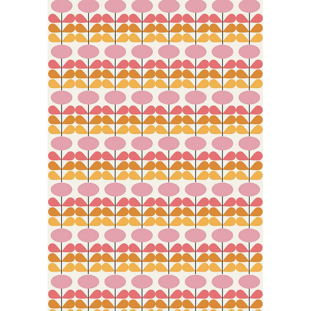 Mid Mod Floral Gift Wrap - ModLoungePaperCompany