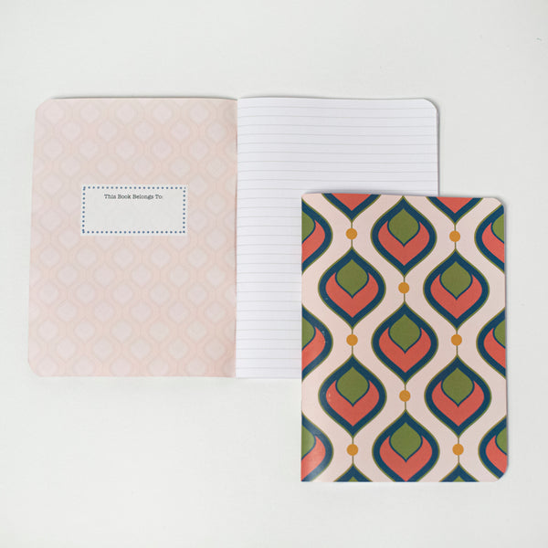 Mod Flame Notebook - ModLoungePaperCompany