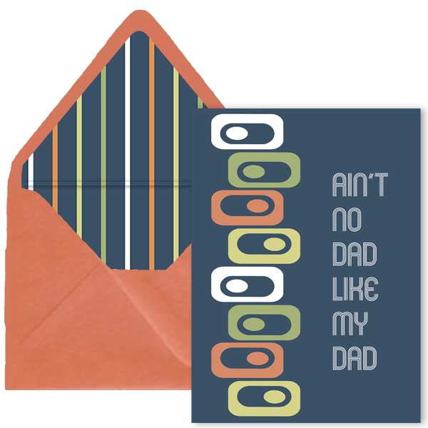 No Dad Like My Dad Card - ModLoungePaperCompany