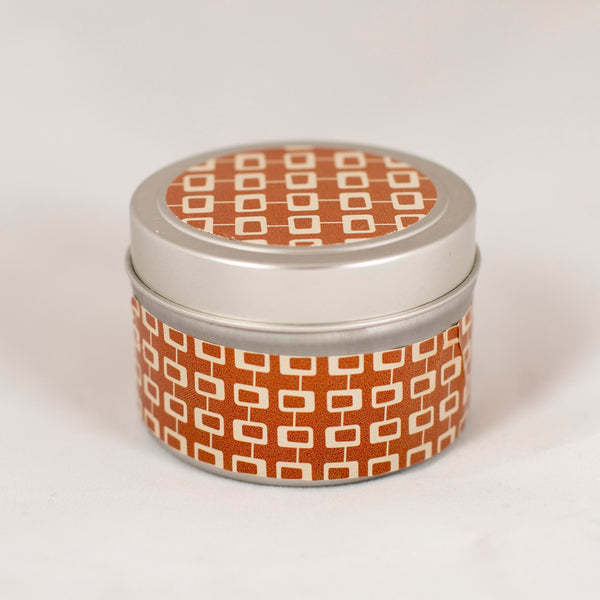 Open Square Row Spice Travel Candle - ModLoungePaperCompany