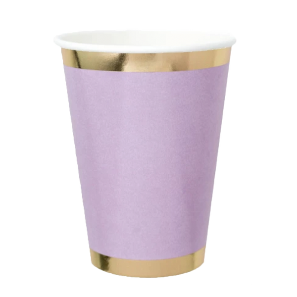 Posh Cup Purple - ModLoungePaperCompany
