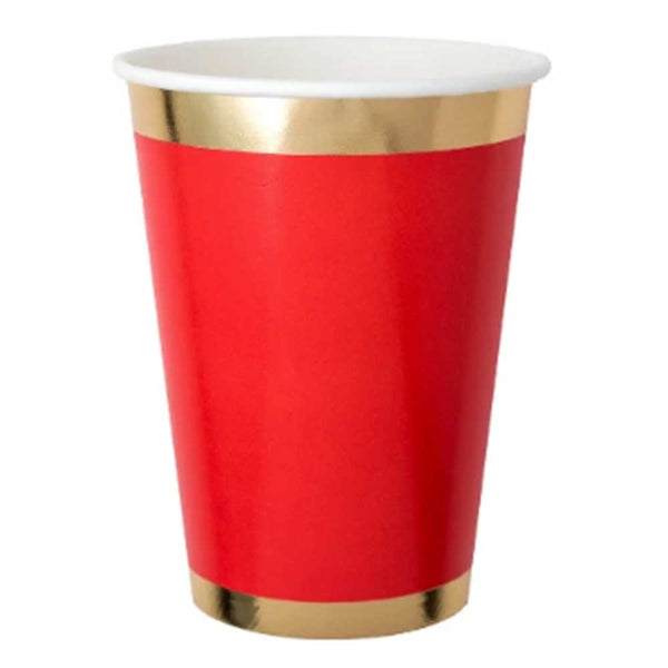 Posh Cup Red - ModLoungePaperCompany