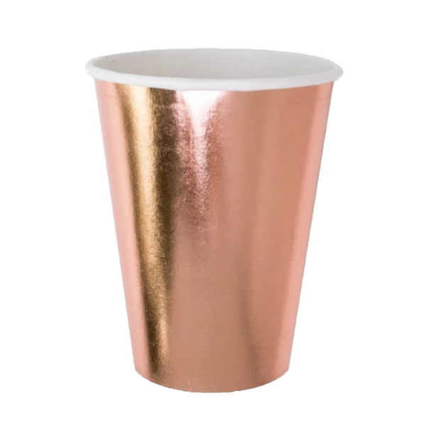 Posh Cup Rose Gold - ModLoungePaperCompany